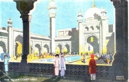 EXHIBITION - 1924/5 - THE INDIAN COURTYARD By ERNEST COFFIN  Ex14 - Exhibitions