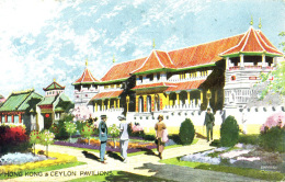 EXHIBITION - 1924/5 - HONG KONG AND CEYLON PAVILIONS Ex19 - Exhibitions