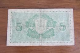 Finlande 5 Mark 1939 - Finlande