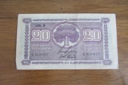 Finlande 20 Mark 1939 - Finlande