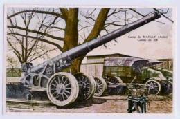 10 CAMP DE MAILLY   CANON DE 220 - Ausrüstung