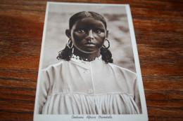 CPSM Afrique Jeune Femme Fille  Costumi Africa Orientale Éthiopie  Somalie Italienne Et L´Érythée - Afrique Du Nord (Maghreb)