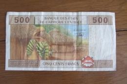 Afrique Centrale 500 Francs 2002 - États D'Afrique Centrale