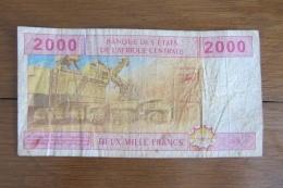 Afrique Centrale 2000 Francs 2002 - États D'Afrique Centrale