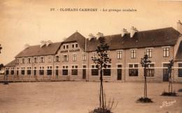 CLOHARS-CARNOET LE GROUPE SCOLAIRE (CARTE GLACEE) - Clohars-Carnoët