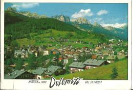 Moena (Trento, Trentino) Val Di Fassa, Panorama Verso Il Gruppo Del Catinaccio - Trento