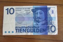 Pays - Bas 10 Gulden 1968 - Netherlands