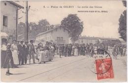 GOLBEY  (plaine De  )   La Sortie Des Usines - France