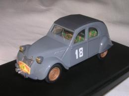 CITROEN 2CV - TOUR DE CORSE 1956 - N.18 - MARSEILLAIS MATHERON - ELABORAZIONE VITESSE - 1/43 - Cars & 4-wheels