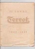 Terrot Maschinen - 75 Jahre - 1862 - 1937 Bad Cannstatt - Old Paper