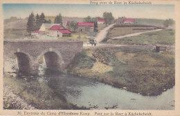 Elsenborn (environs) - Pont Sur La Roer à Küchelscheidt (animée, Colorisée, Attelage) - Elsenborn (camp)