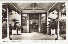 URIAGE Les BAINS - Intérieur De L'établissement Thermal - La Buvette - Uriage