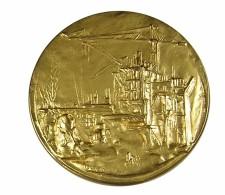 Ets Colas - Marne Ardennes -  20 Ans De M.Coutel - Bronze   Doré. Sup - Professionnels / De Société