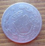 2  LIRE IN ARGENTO DEL 1884 UMBERTO I° REGNO D´ITALIA - - 1861-1946 : Regno
