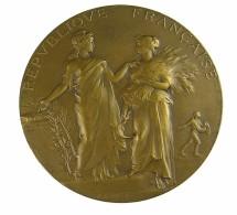 Paris - Ministère De L'Agriculture - Concours De Paris - Bronze - Sup - - Professionals / Firms