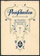 1932 Germany Dresden Deutscher Stenographen Preisschreiben , Deutschen Stenographenbundes Certificate - Diplomi E Pagelle