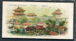 Players Cigarettes Cities Of The World Peking Pekin China - Player's