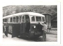 Florac - Autorail Ligne Ste Cecile D'adorge A Florac - Tram 202 - Trains
