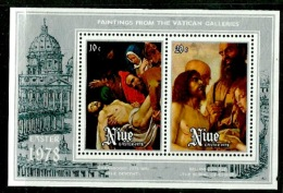Niue 1978 - Scott 219/20 (MNH) Easter - Niue