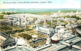 EXHIBITION - 1908 FRANCO BRITISH - BIRDS EYE VIEW - TUCKS 3524 Ex38 - Exhibitions