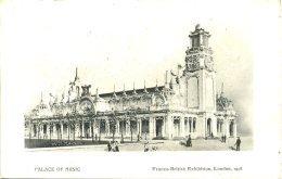 EXHIBITION - 1908 FRANCO BRITISH - PALACE OF MUSIC Ex39 - Exhibitions