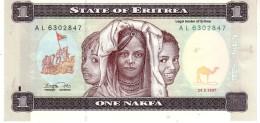 Eritrea P.1 1 Nakfa 1997  Unc - Eritrea