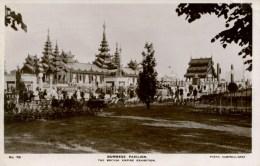 EXHIBITION - 1924/5 EMPIRE - BURMESE PAVILION RP Ex46 - Exhibitions