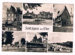 D 41  - Cpm -  SAINT  AIGNAN Sur  CHER  - MULTIVUES - 6 Vues  - 2834 - Saint Aignan