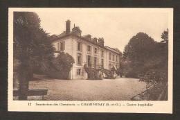 Sanatorium Des Cheminots - CHAMPROSAY - Centre Hospitalier  ( N° 12 ) - Autres Communes
