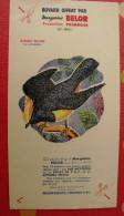 Buvard Margarine Belor Oiseau. Vers 1950 - Food