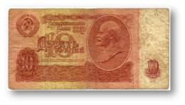 RUSSIA - 10 Rubles - 1961 - Pick 233 - Serie Ма - U.S.S.R. - Lenin - 2 Scans - Russie