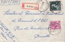 Leopold III / Env. Recommandé De BLATON - 1934-1935 Léopold III