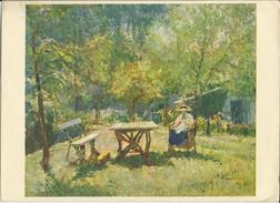 Après-midi à La Campagne - Héliogravure D'après Un Tableau De Alfred Bastien (1929) - Estampes & Gravures