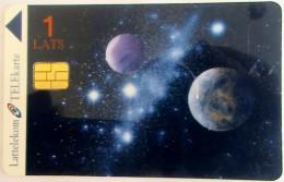 LATVIA - Planets, Tirage 10, Mint - Latvia