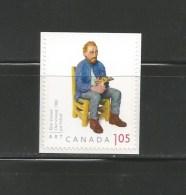 CANADA, 2012, # 2524,  JOE FAFARD  INTERNATIONAL  RATE - Carnets