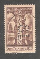 Perforé/perfin/lochung France No 302 S.L  Société Lyonnaise (139) - Francia