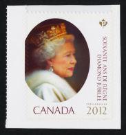 CANADA. 2012, MNH   #2519   QUEEN ELIZABETH DIAMOND JUBILEE    STAMP - Single Stamps