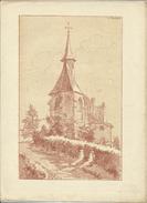Chapelle à Woluwe/Kapel Te Woluwe  - Gérard Roosen (1917) (lithografie/Lithographie) - Lithographies