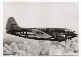 """Avion De Guerre- """" Le  C46  """" ,cpsm 15 X 10 N° 16  éd  Superluxe.......à Saisir - Avions"""