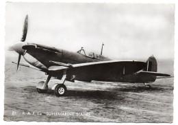 """Avion De Guerre- """" R.A.F--Le SUPERMARINE SEAFIRE  """" ,cpsm 15 X 10 N° 21  éd  Superluxe.......à Saisir - Avions"""