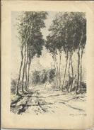 Weg In Vlaanderen/Route En Flandre - Charles Gouweloos (1917) - Lithographies