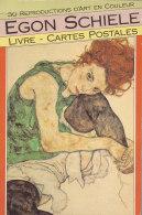 Egon Schiele (1890-1918) Livre - Cartes Postales (booking International) - Paintings