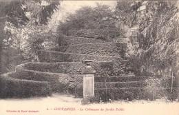 50 - Coutances - Le Colimaçon Au Jardin Public - 1923 - Coutances