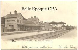 58 - COSNE - La Gare Vue Intérieure ++++ L'Hirondelle, #111 +++ 1904 ++++++ - Cosne Cours Sur Loire