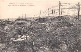 VERDUN La Tranchee Des Baionnettes Avant L Erection Du Monument A Thiaumont 18(scan Recto-verso) MA690 - Verdun