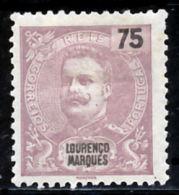 !■■■■■ds■■ L.Marques 1903 AF#73* Mouchon New Colors 75 Réis VARIETY (x10966) - Lourenco Marques