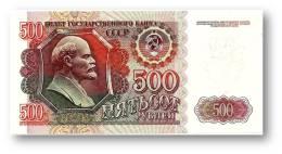 RUSSIA - 500 Rubles - 1992 - Pick 249 - Serie ВГ - Unc. - U.S.S.R. - Lenin / Kremlin - 2 Scans - Russia