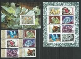 Tajikistan 1998.Minerals Of Tajikistan, 6v + 2 S/s, Mint/**MNH - Tadjikistan