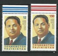 Tajikistan 1998 Mih. 149/50 Historian Bobojon Ghafurov MNH ** - Tadjikistan