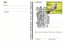 Austria Postal Stationary W/Bird P/m Neukirchen Bei Altmünster 1993 Freiwillige Feuerwehr (SKO10-2A) - Sapeurs-Pompiers